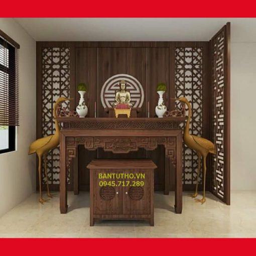 bàn thờ chung cư thờ phật