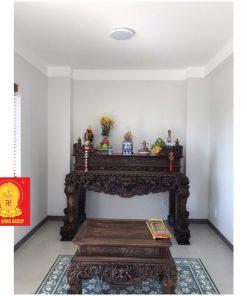 Bộ bàn sập thờ gia tiên gỗ gụ BST 07