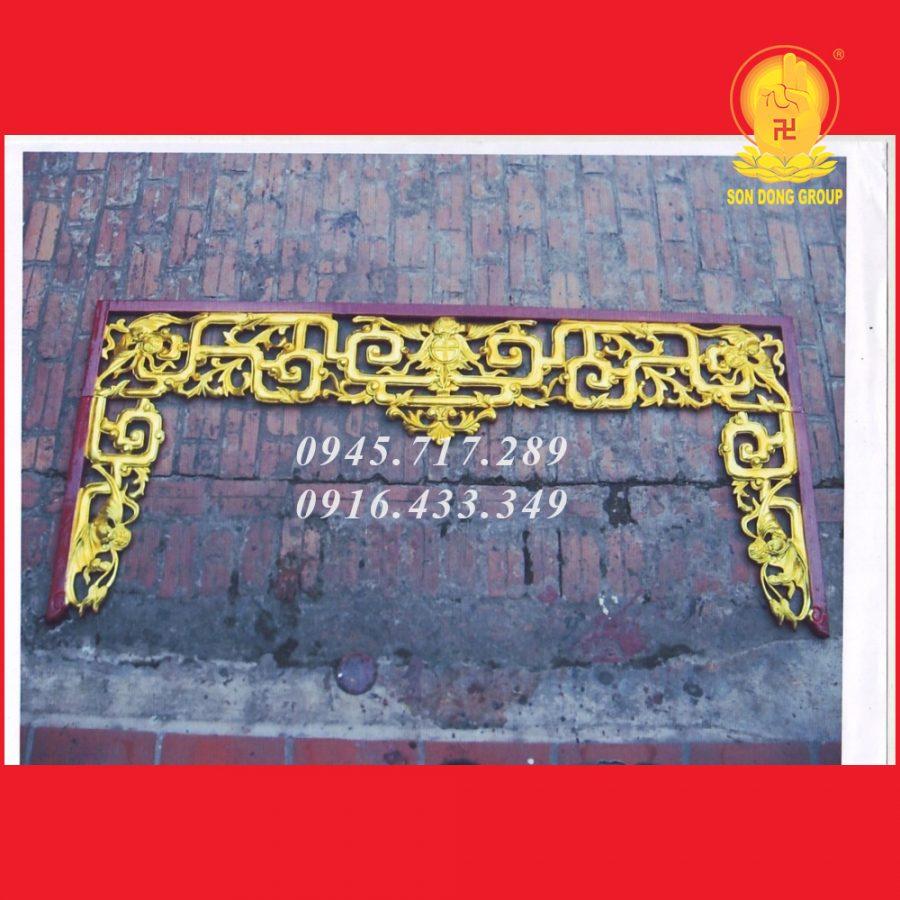 Cửa Võng Bao Lam Triện CV11