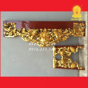 Cửa Võng - Bao Lam Tứ Quý Hóa Tứ Linh CV08