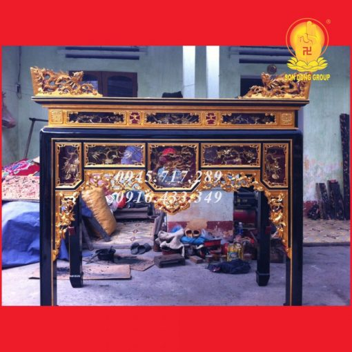 Bàn Thờ Ô SA Tứ Linh OS02
