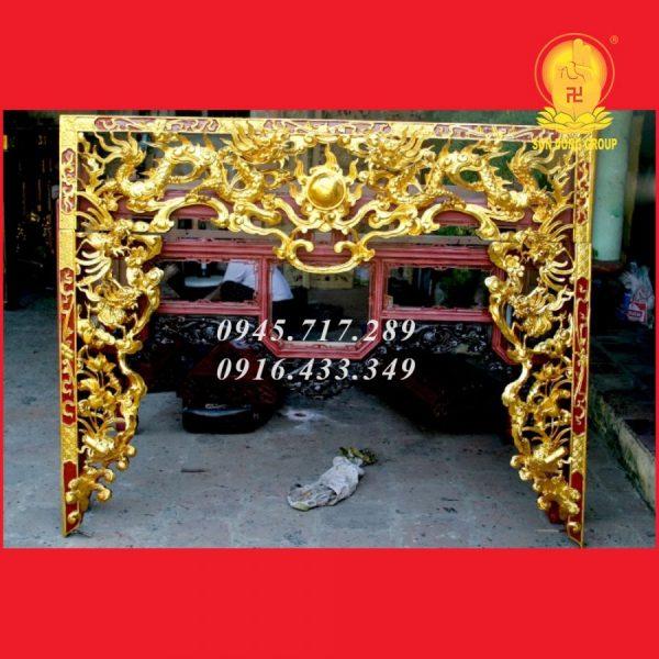 Cửa Võng Tứ Linh CV02