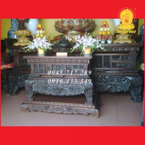Sập Thờ Chùa Chính Điện STCD02