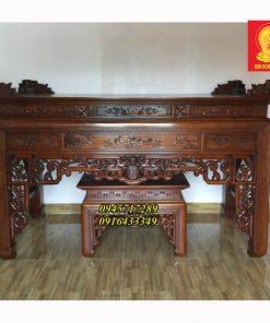 Mẫu bàn thờ gia tiên, như ý ngũ phúc BBT 03