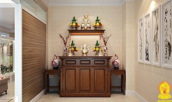 Hướng dẫn cách đặt bàn thờ trong nhà chung cư
