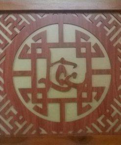 Tấm chắn khói chữ Lộc
