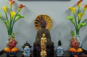 Lập bàn thờ Phật như thế nào cho đúng?