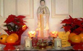 Làm thế nào để đem lại may mắn khi thờ Phật tại gia?