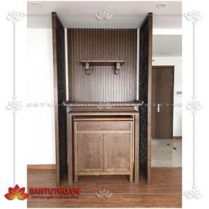 Bàn thờ gia tiên dành cho nhà chung cư, hiện đại BBT 10