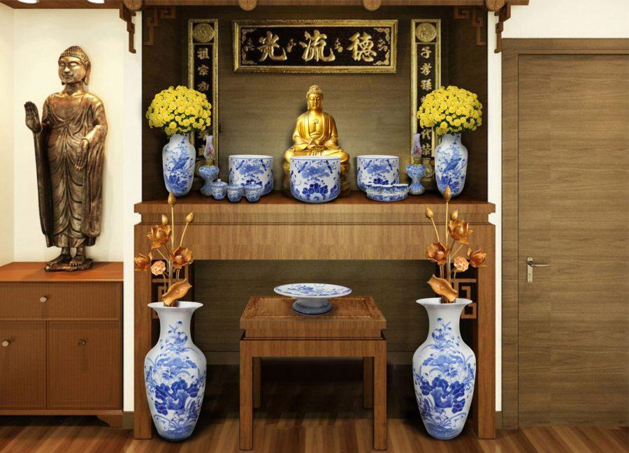 Những điều phật tử nên nhớ lựa khi chọn vị trí đặt bàn thờ Phật