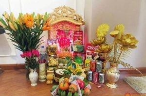 Những thắc mắc xung quanh bàn thờ Thần Tài
