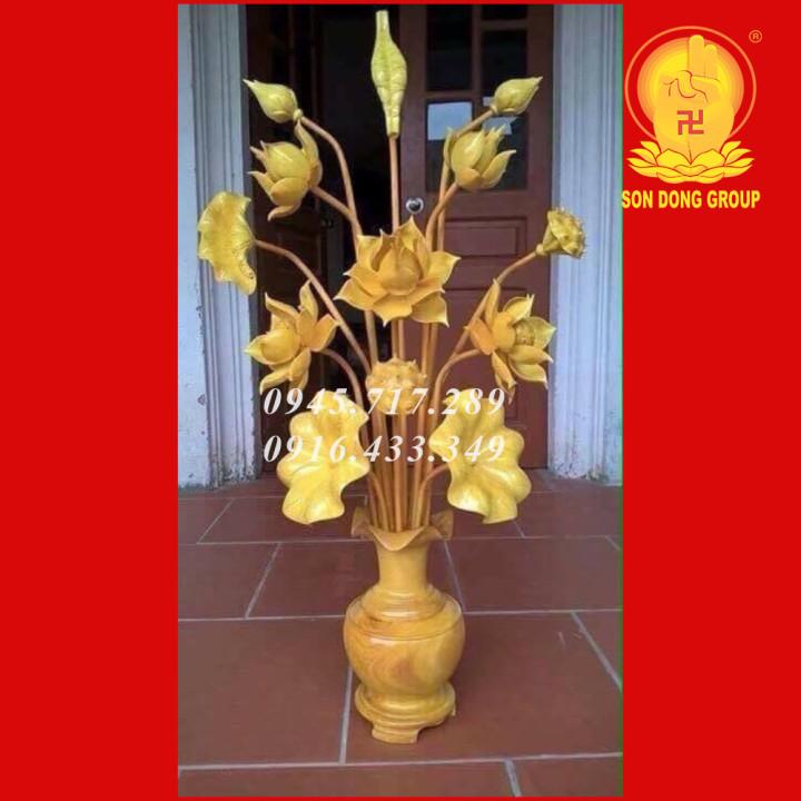 hoa sen gỗ 13 cành